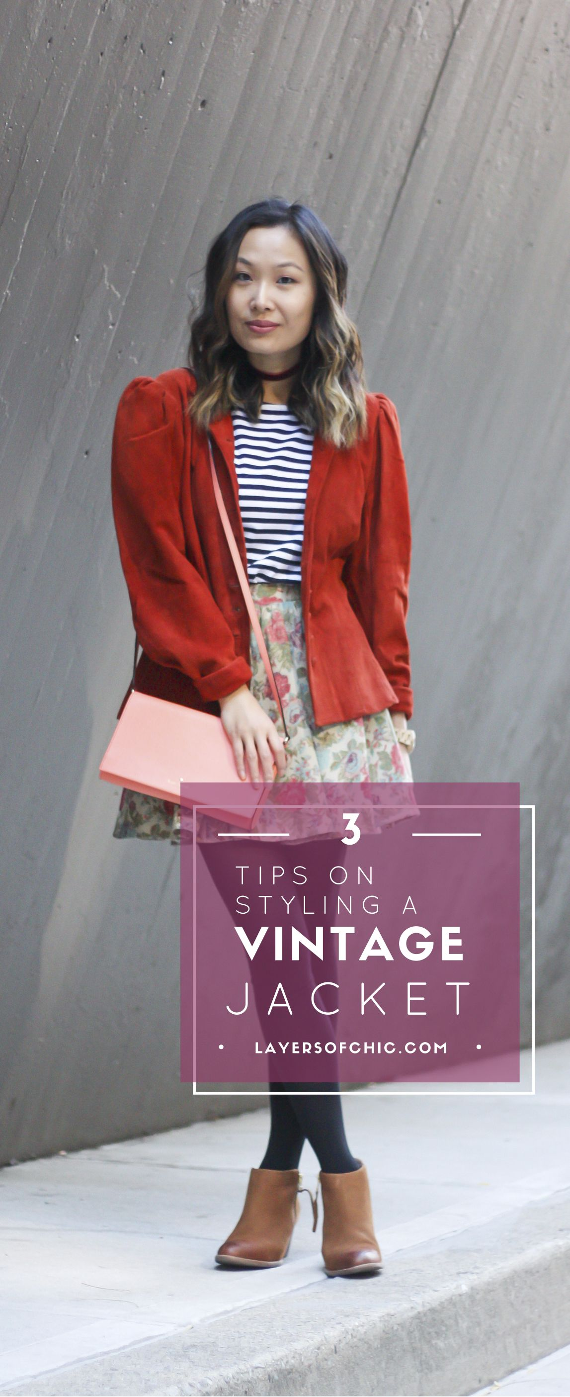 e1f299f9ae8 3 Tips on How to Style a Vintage Jacket