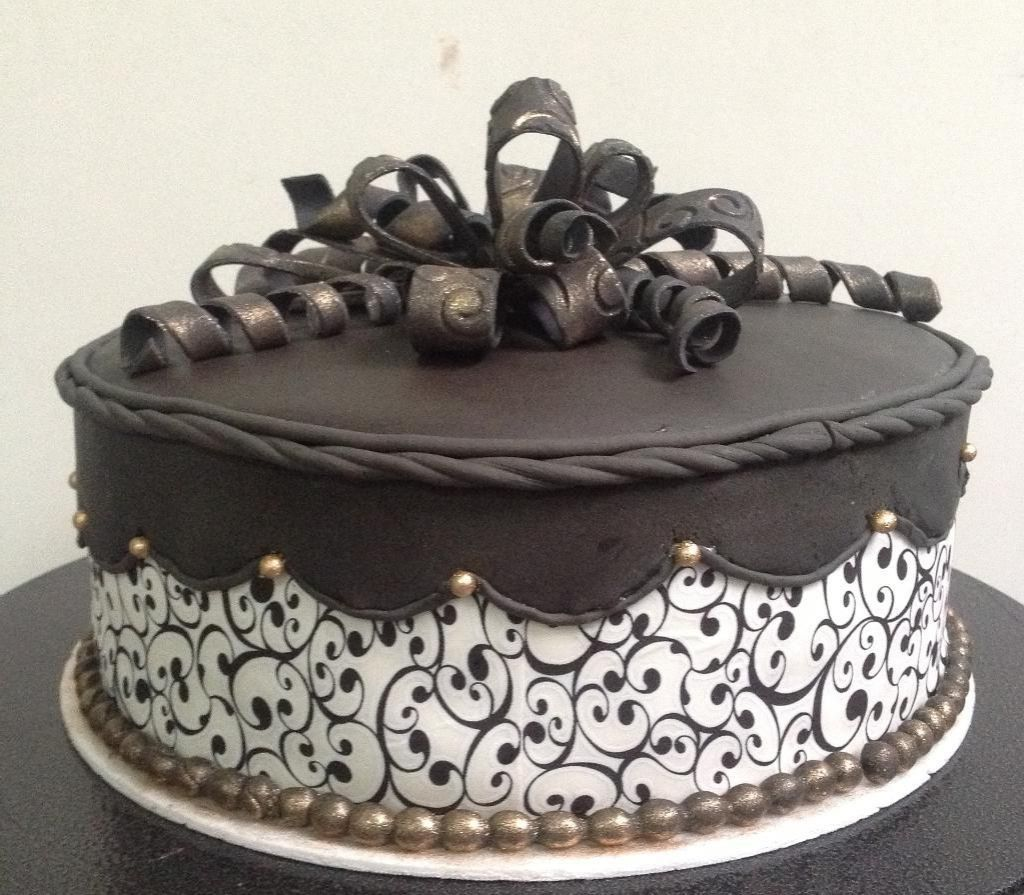 Chocolate cake designs google search dream cakes for Adult birthday cake decoration