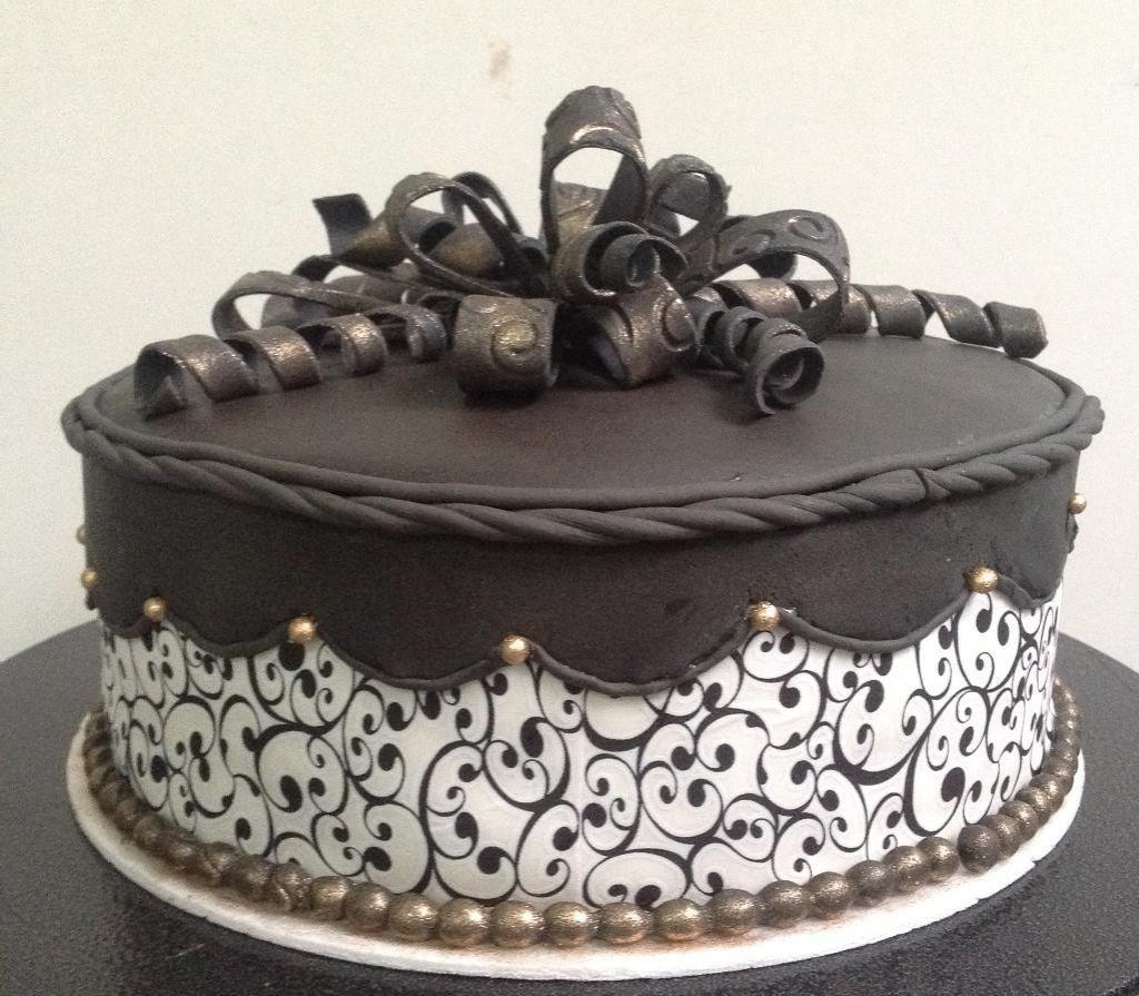 Bildresultat fr chocolate cake designs Idea Pinterest