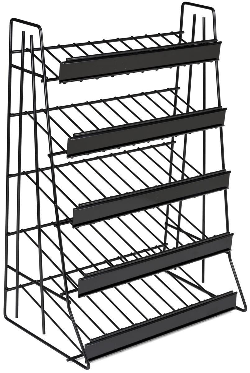 5-Tier Countertop Wire Rack, Sign Channel - Black | Pinterest ...