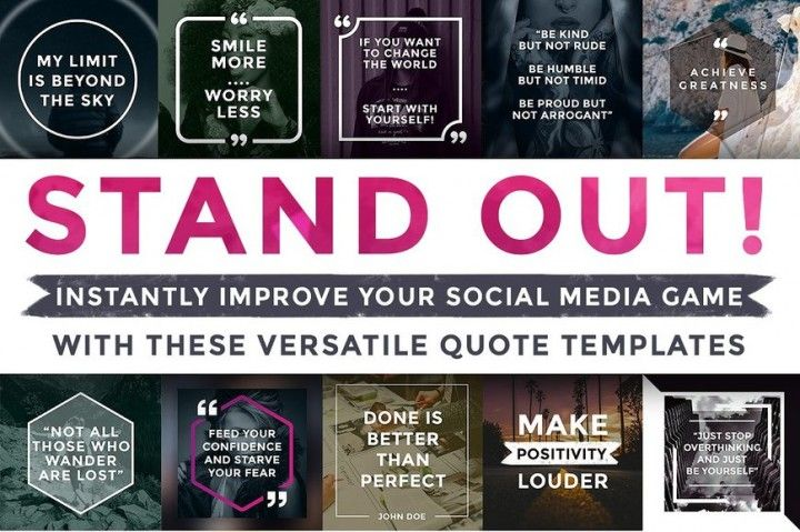 Quick  Easy Quote Templates By Brandspark Graphics and Fonts