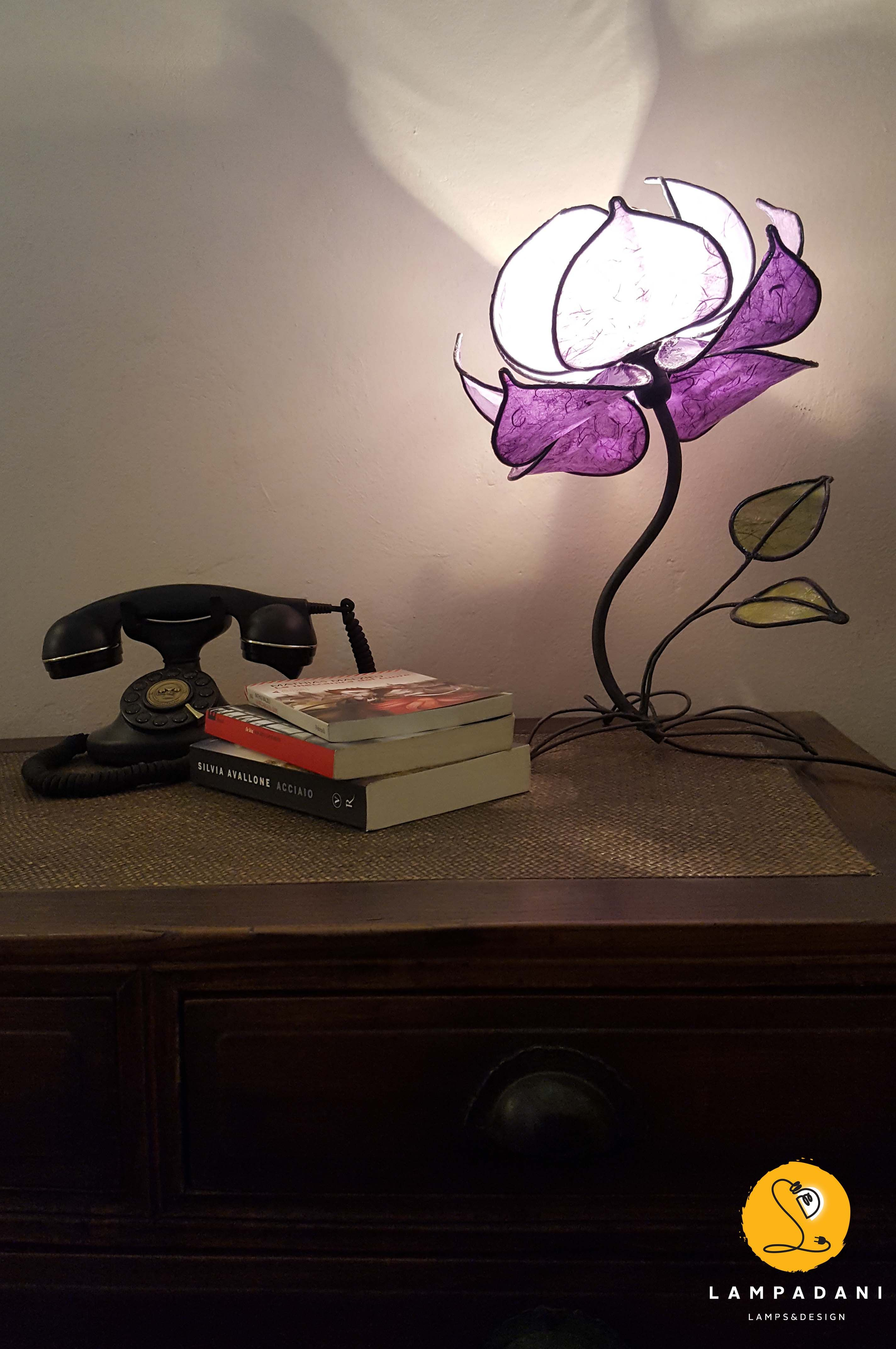 Lotus flower table lamp 12 petals high handmade lamps lotus flower table lamp 12 petals high lampadani i want one of everything in the shop if i only had the money love it all izmirmasajfo