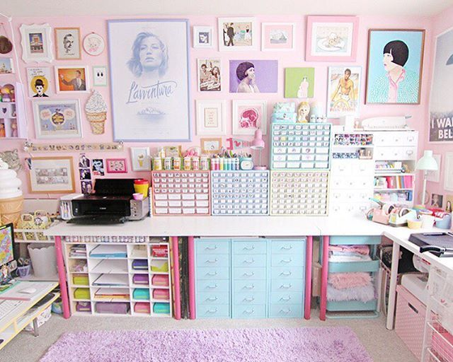 Scathingly Brilliant: Room Tour   My Office