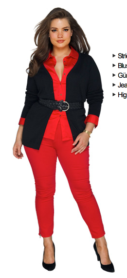 tara lynn for la redoute fall 2011   love yourself. No guilt. plus Size. Full figure. Curvy.  Fashion.  BBW. Curves. Accept your body. Body consciousness
