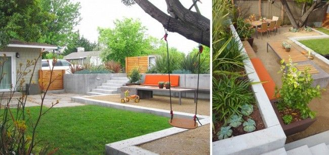 modernes gartendesign garten neugestaltung ideen projekte hofumbau - gartenplanung beispiele kostenlos
