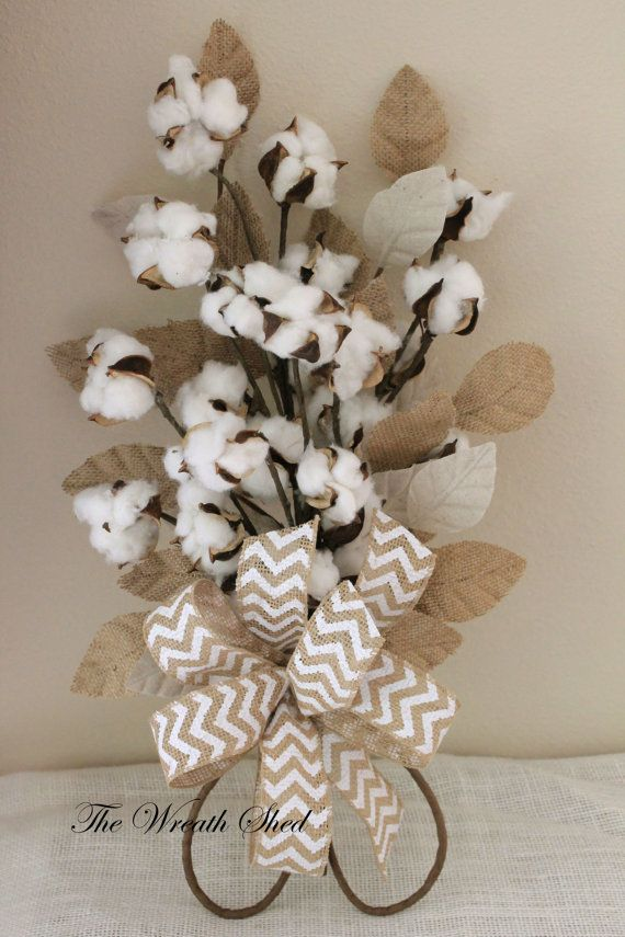 Cotton Anniversary Bouquet, 2nd Wedding Anniversary Gift, Natural ...