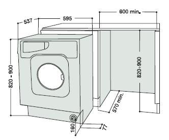 Washer Dryer Dimensions 5 And