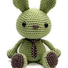 Found at Amigurumipatterns.net..Wasabi the bunny