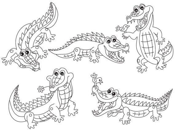more crocodile clipart can be found here http etsy me 2nl89iu item black white crocodile clipart di clip art crocodile illustration hand illustration white crocodile clipart