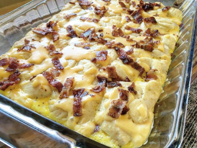 recipe: bacon egg and cheese biscuit bake tasty [15]