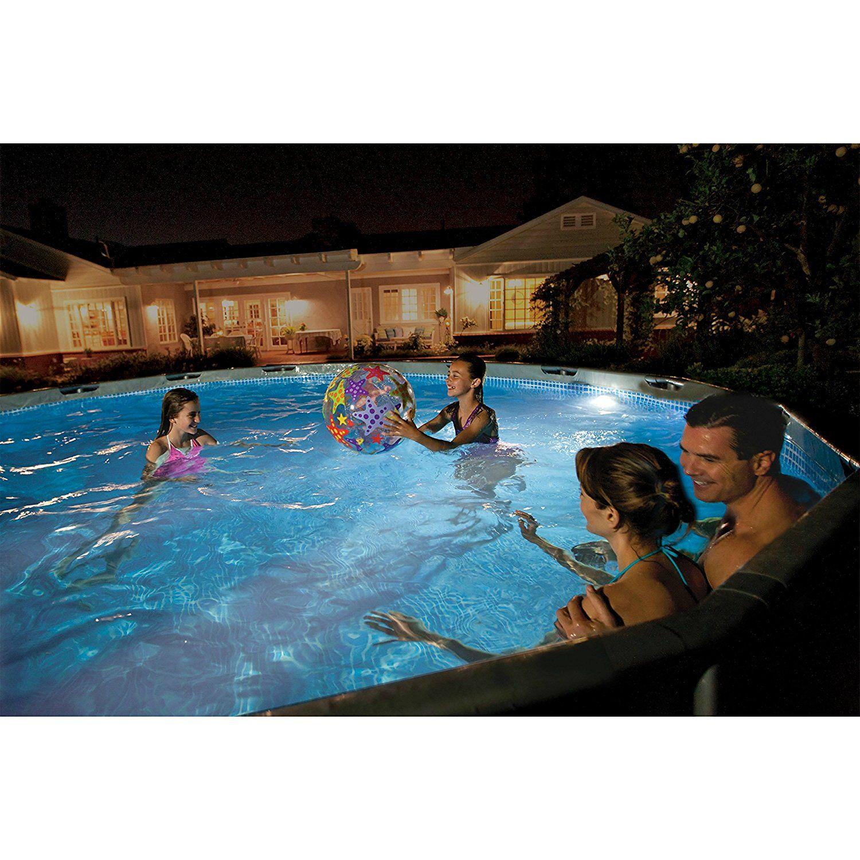 Amazonsmile Intex Led Pool Wall Light, 110 120V Swimming Pool Lighting