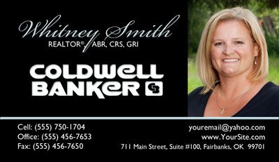 Real Estate Business Cards Coldwell Banker Get This Business - Coldwell banker business card template