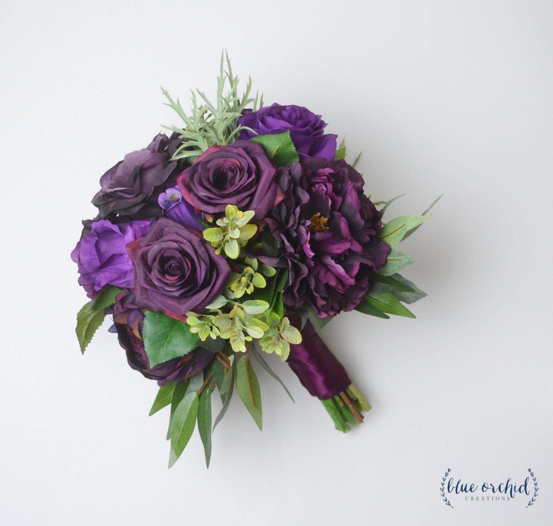 Fall bouquet wedding bouquet silk flower bouquet purple plum fall bouquet wedding bouquet silk flower bouquet purple plum bouquet destination izmirmasajfo