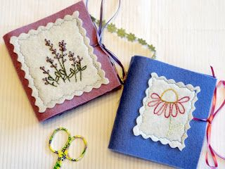 Country Garden Stitchery: Tomatoes, Felt Needlebooks and Hand Dyed Wool