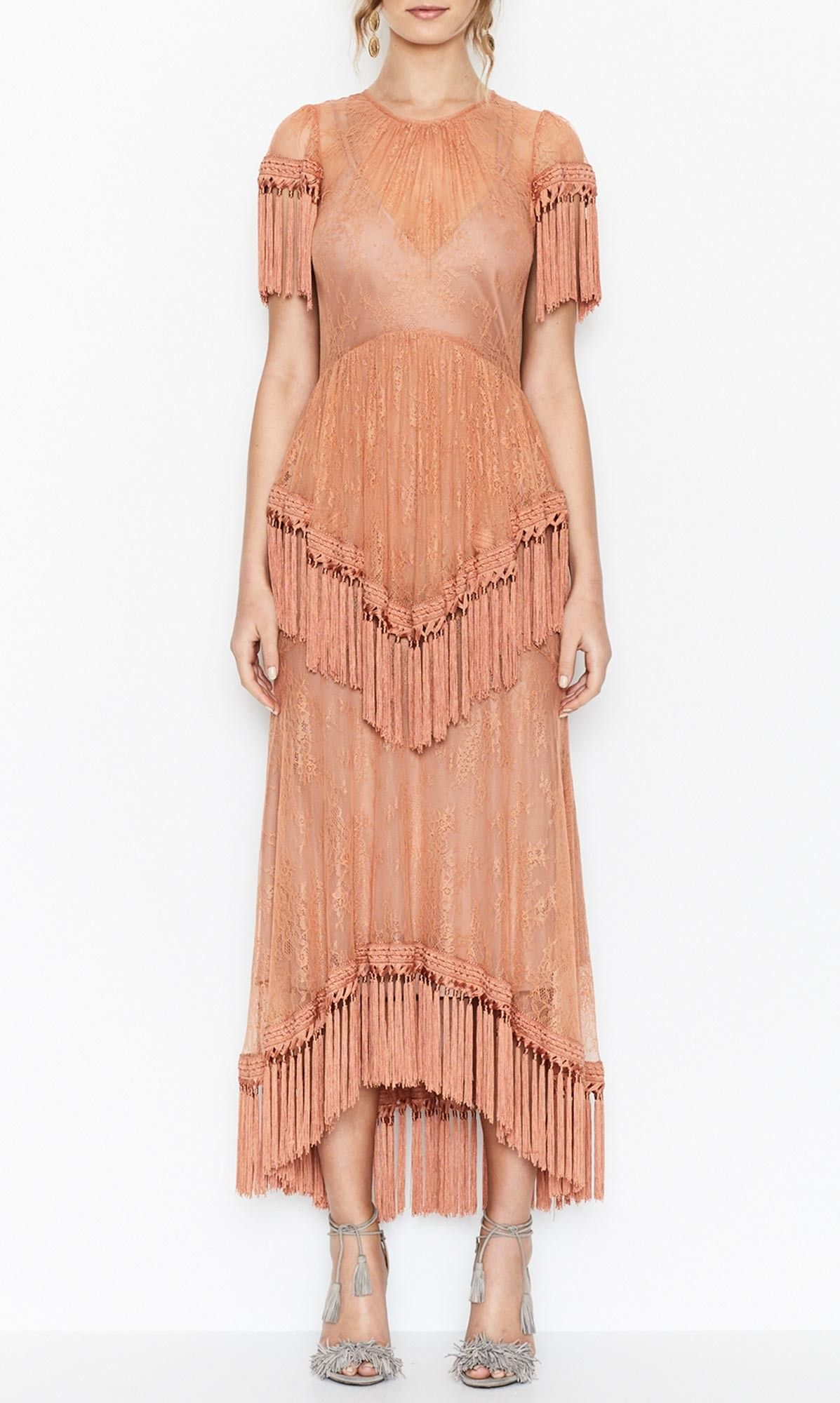 alice McCALL   alice McCALL More Than A Woman Gown Amber - alice McCALL