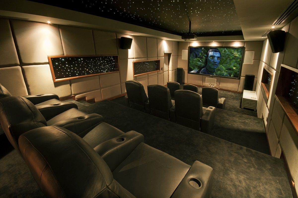 Interior Design Inspiration: Cinema Rooms