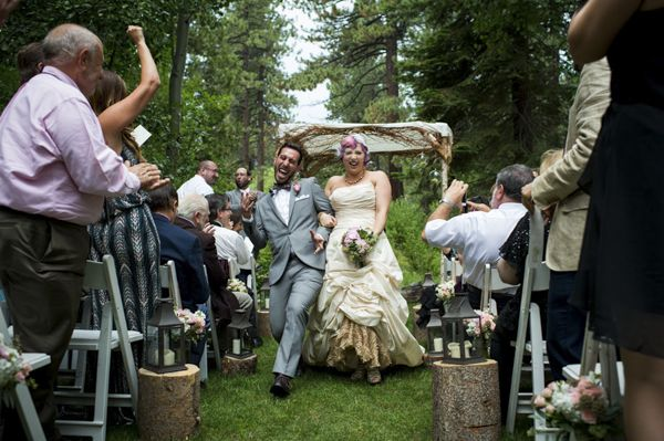 A Beautiful Ceremony At Aspen Grove In Incline Village Nevada North Lake Tahoe