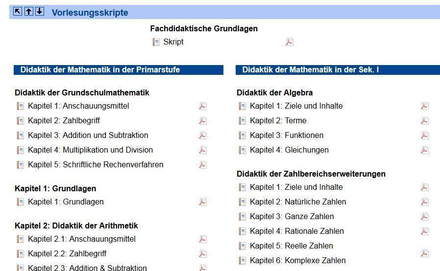 Vorlesungsskripte Mathematik - Prof. Jürgen Roth Uni Koblenz-Landau ...