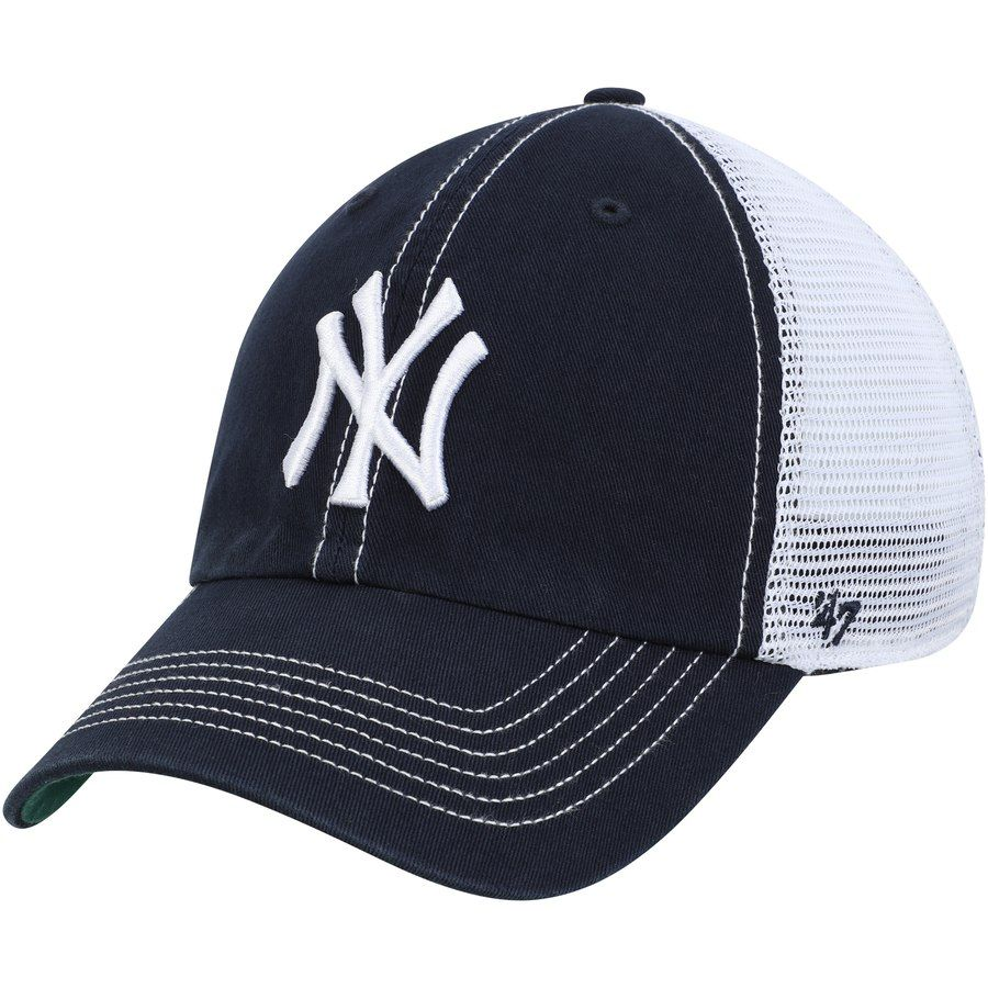 new concept 1fca5 0f4e6 Men s New York Yankees  47 Navy Trawler Clean Up Trucker Hat, Your Price    24.99