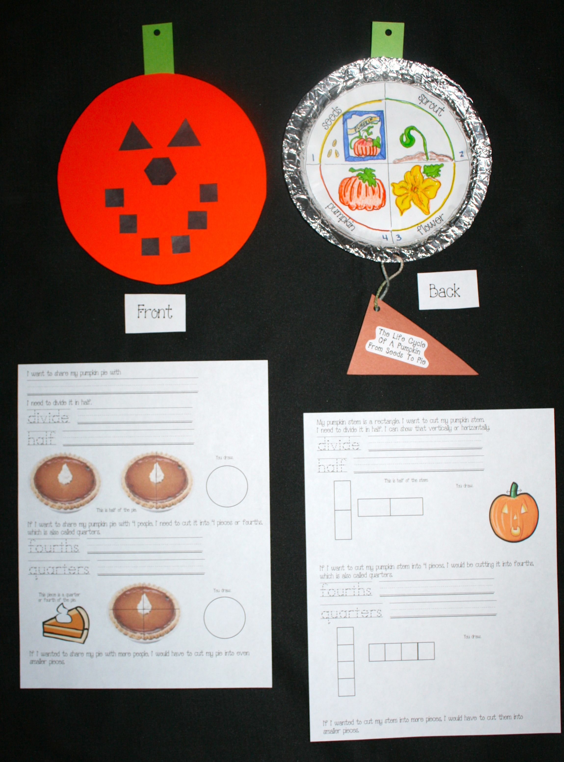 9 Common Core Math Activities With Pumpkins
