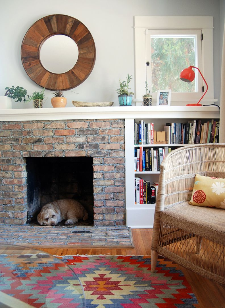 I Need These Bookshelves To Flank My Fireplace Under The