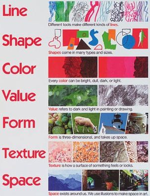 7 Elements Of Art Teaching Art Pinterest Elements Of Art