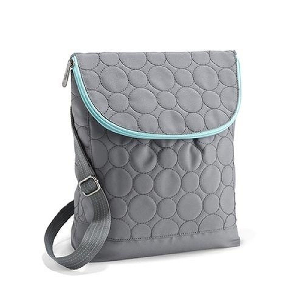 Thirty One Vary You Quilted Dots Backpack Purse None