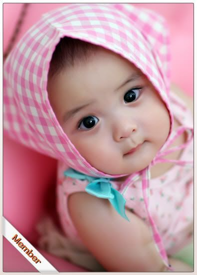 pinky cutieee. Cute baby girl pictures