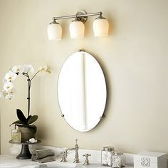 design to mirror oval mirrors mount how ideas for bathroom
