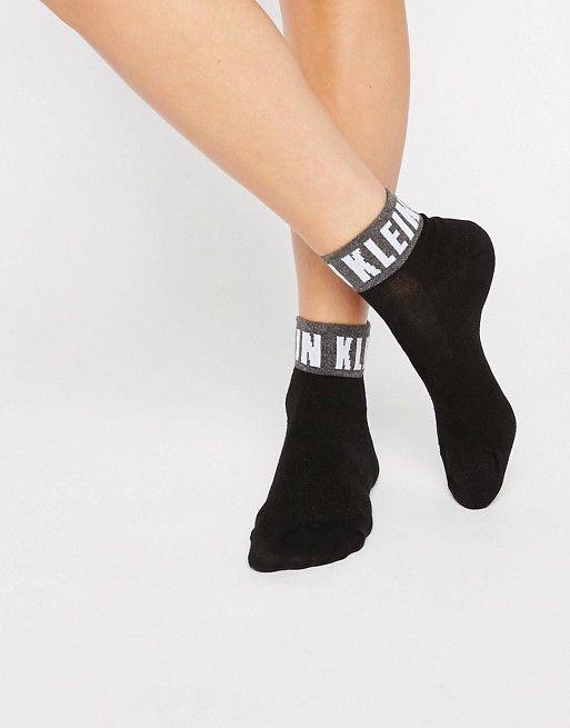 Icon Logo Quarter Socks - White Calvin Klein Release Dates Cheap Online 7rUazC