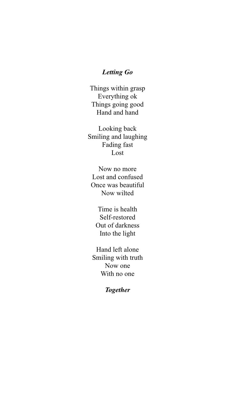 Hope my poem i made is good  You can read it straight down