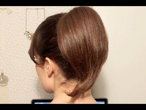 Tuto coiffure Chignon néoromantique & queue de cheval