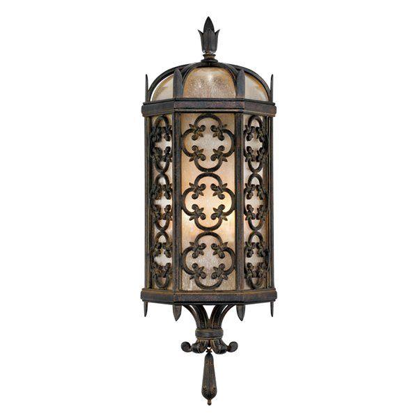 shop fine art lamps 329681 2 light costa del sol outdoor sconce at