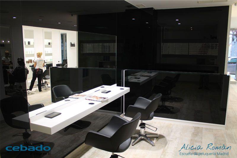 Salón peluquería Escuela Madrid Cebado