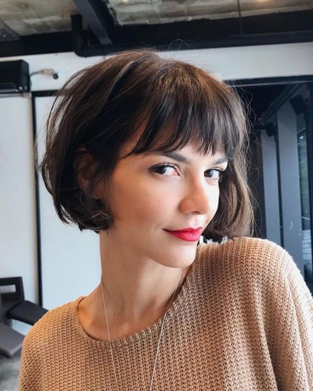 Corte de cabelos das blogueiras e famosas para se