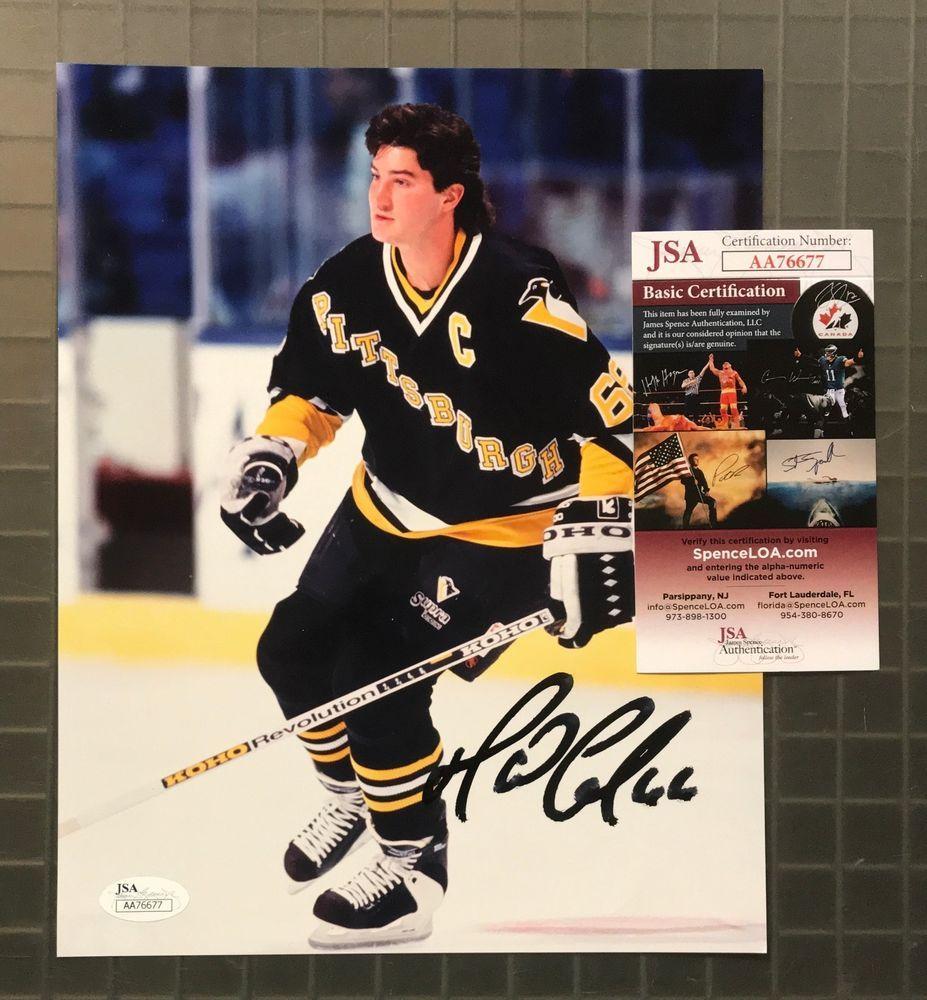 Mario Lemieux Signed 8x10 Photo Autographed AUTO JSA COA Penguins ... d2fcb85d8