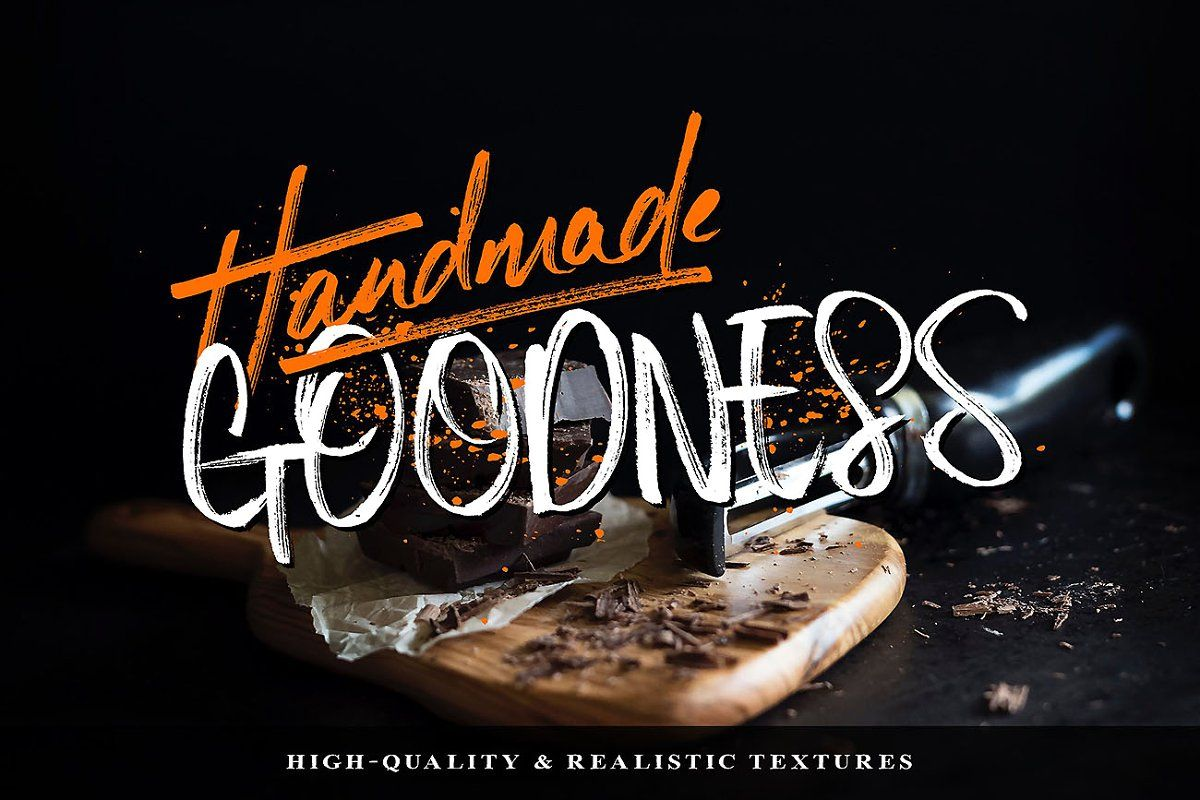 Download The Ultimate Handcrafted Fonts Pack | Font packs, Brush ...