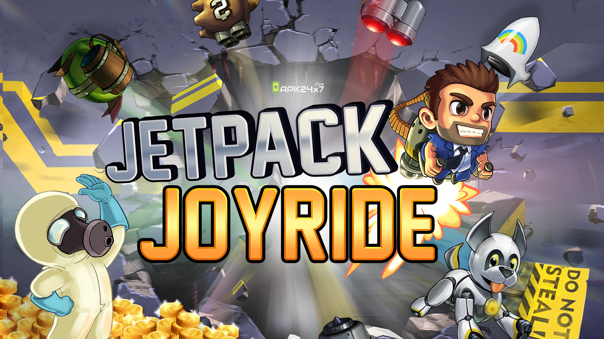 Jetpack Joyride Mod APK (Unlimited Coins) Download For