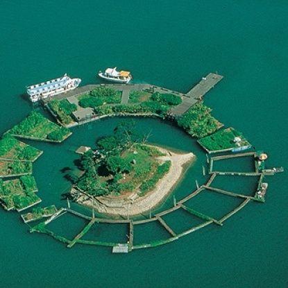 Sun Moon Lake Floating Gardens / FOD