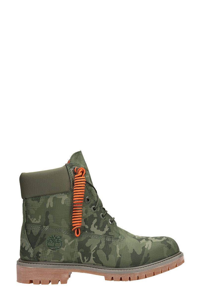 363da9200c616d TIMBERLAND FABRIC CAMOUFLAGE BOOTS.  timberland  shoes