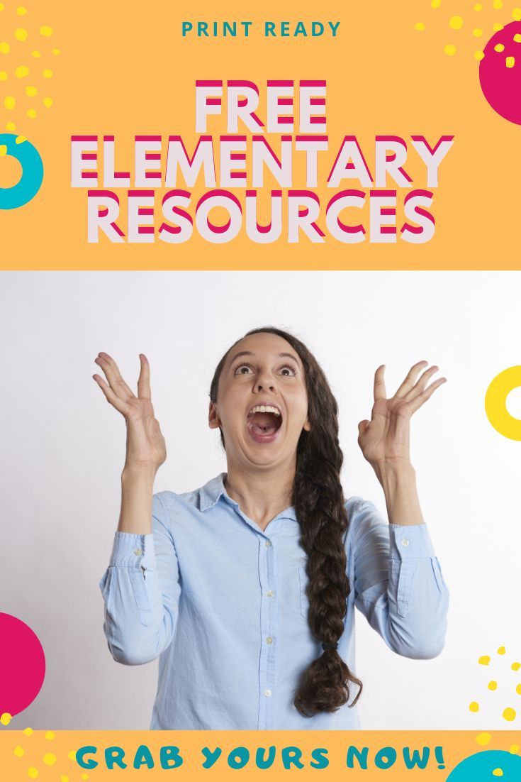 FREE Elementary Resources Want Free Teacher Resources for your elementary classroom or homeschool?