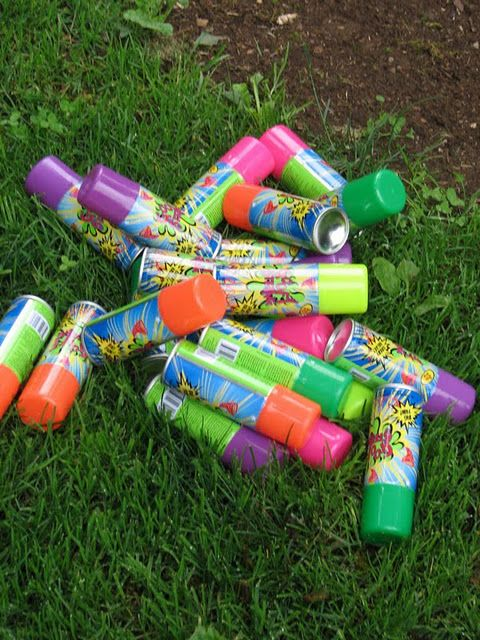silly string battle?