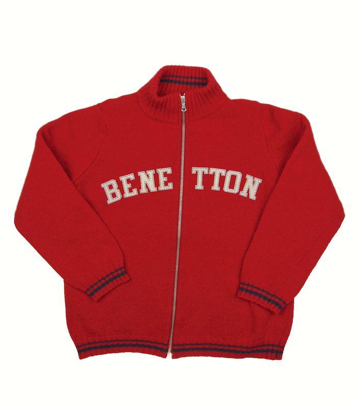 """Jersey de 10 años de Benetton-5,75€.Prenda de segunda mano """"supernueva"""" de nuestra tienda online. Ropa de la mejores marcas a precios insignificantes www.charamusco.com"""