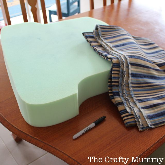 Bon How To Cover A Chair Cushion   The Crafty Mummy
