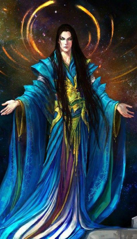 Eru Ilúvatar in 2020 | D&d dungeons and dragons, Dungeons