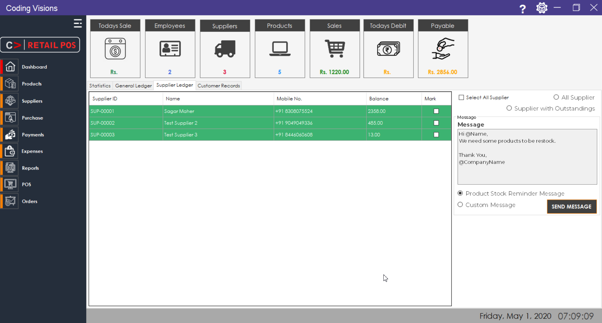 Cv Retail Pos Source Code Complete Pos Solution Pos Coding Windows System