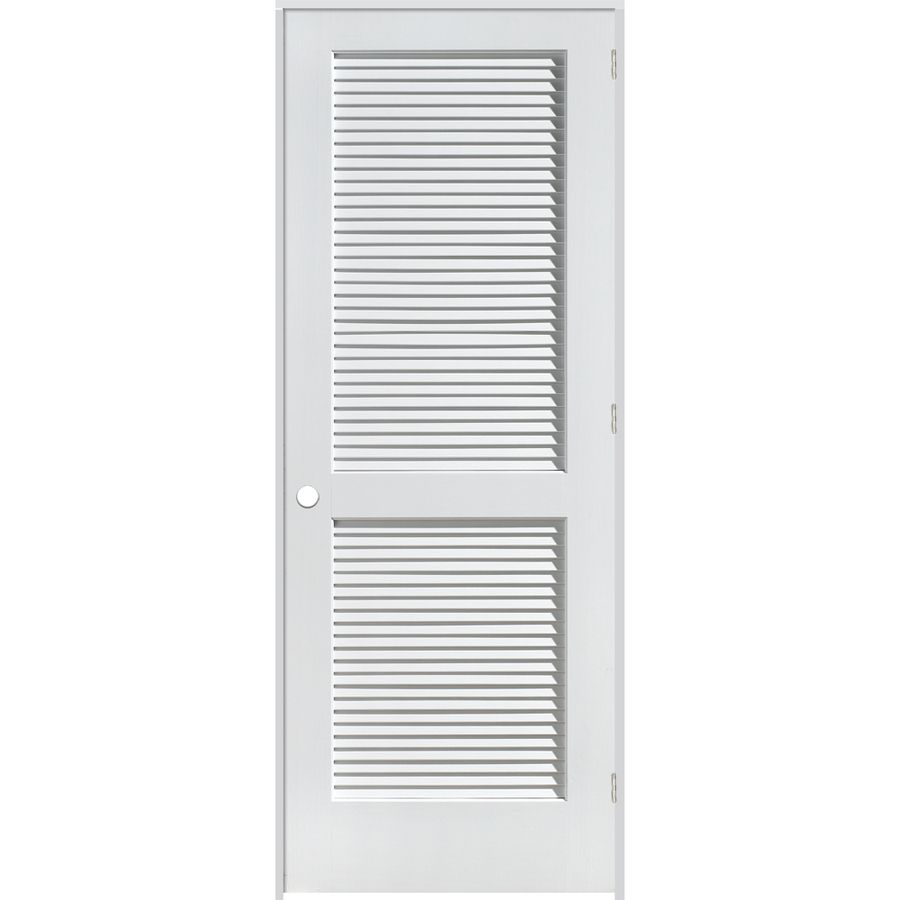 Louver doors google louver doors pinterest prehung x louvered solid pine left hand interior single prehung door planetlyrics Image collections