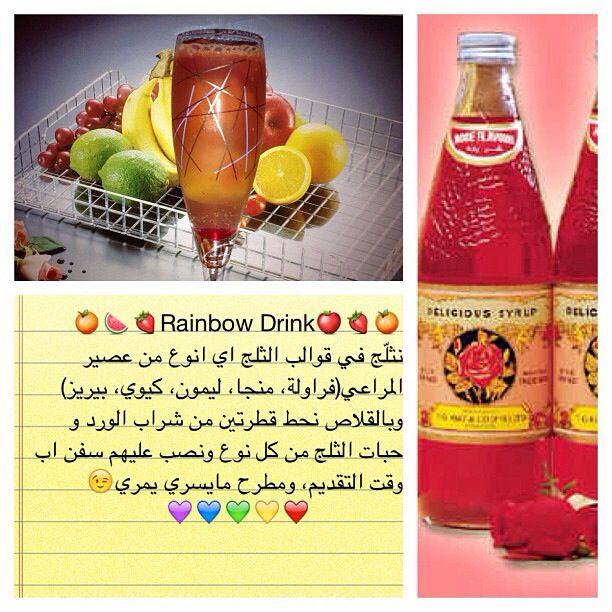 وصفات Hot Sauce Bottles Rainbow Drinks Sauce Bottle
