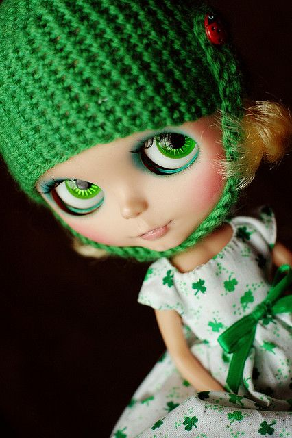 EEEEPS there's a ladybug on my hat!   WAW by Shannon_Taylor, via Flickr