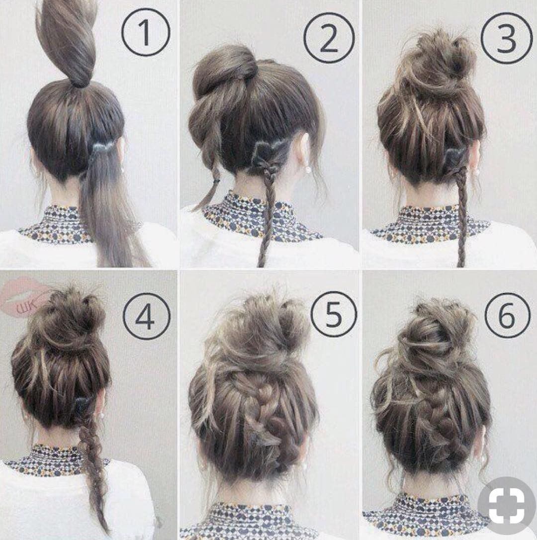 Image result for cute easy hairstyles for lazy days medium